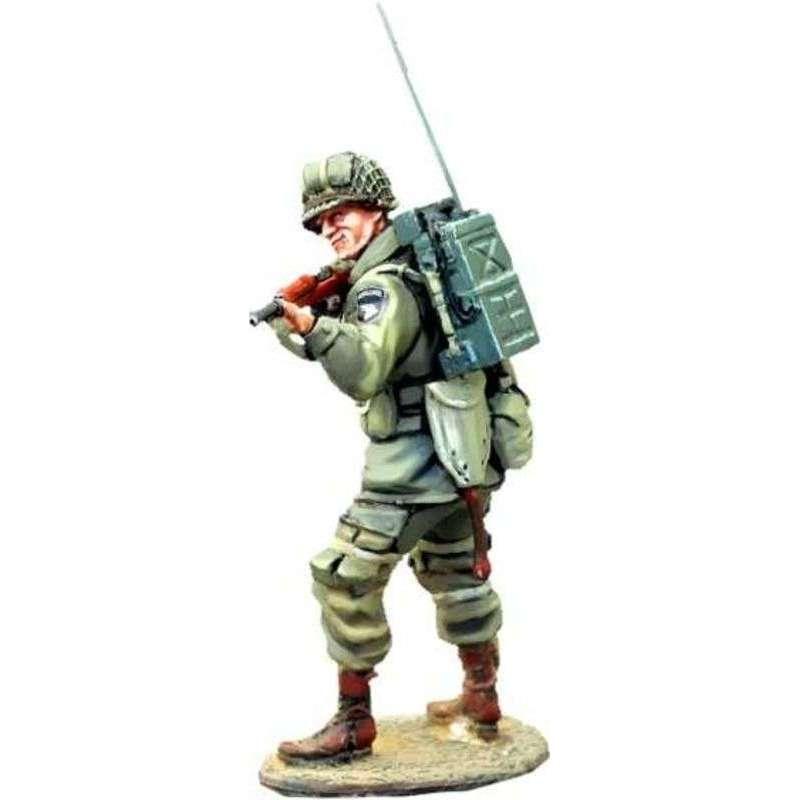 US paratrooper radio operator Arnhem 1944