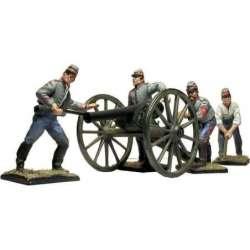 ACW 027 toy soldier cañón parrot dotación