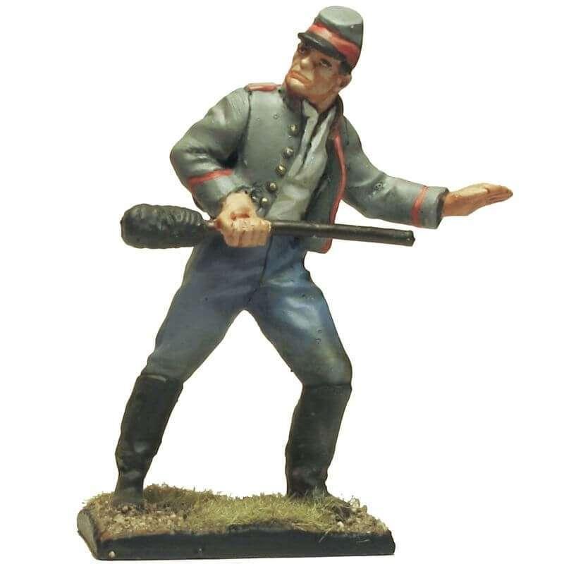 Soldado artillería baqueta