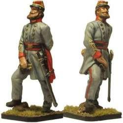 Coronel artillería confederada