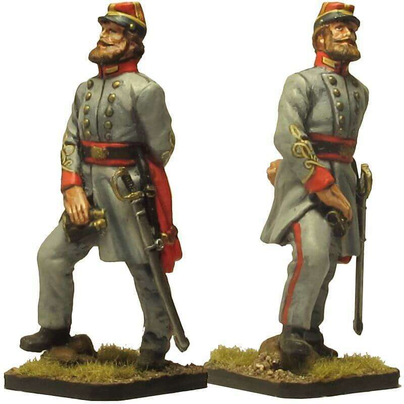 ACW 030 Coronel artillería de la Confederación