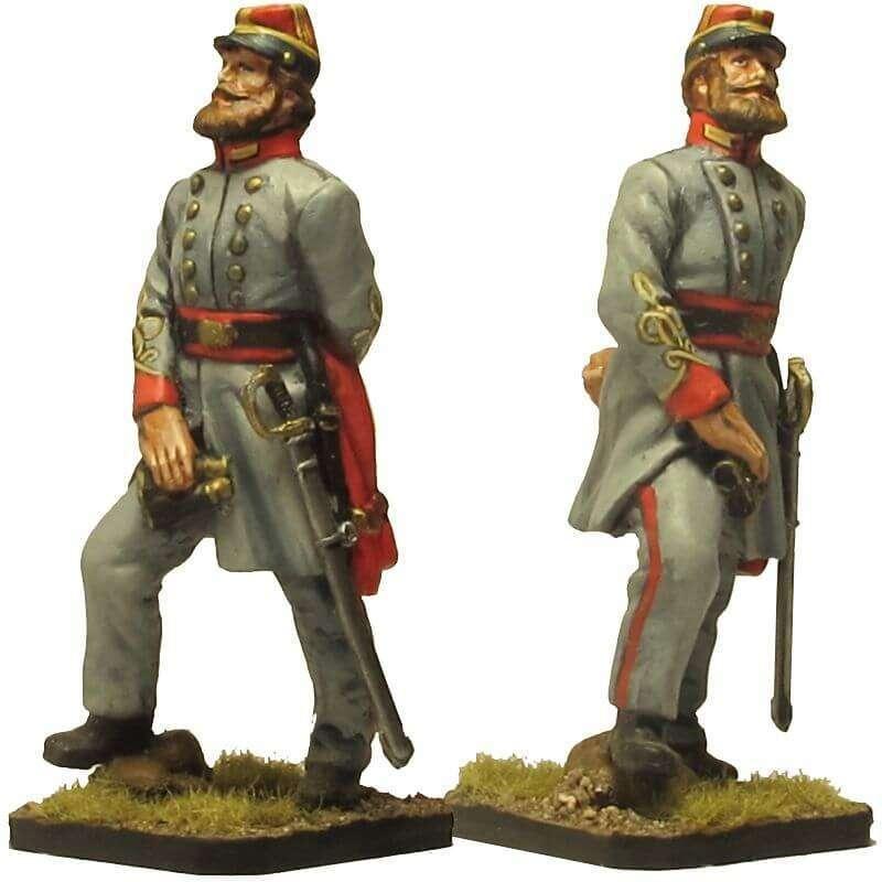 Coronel confederada