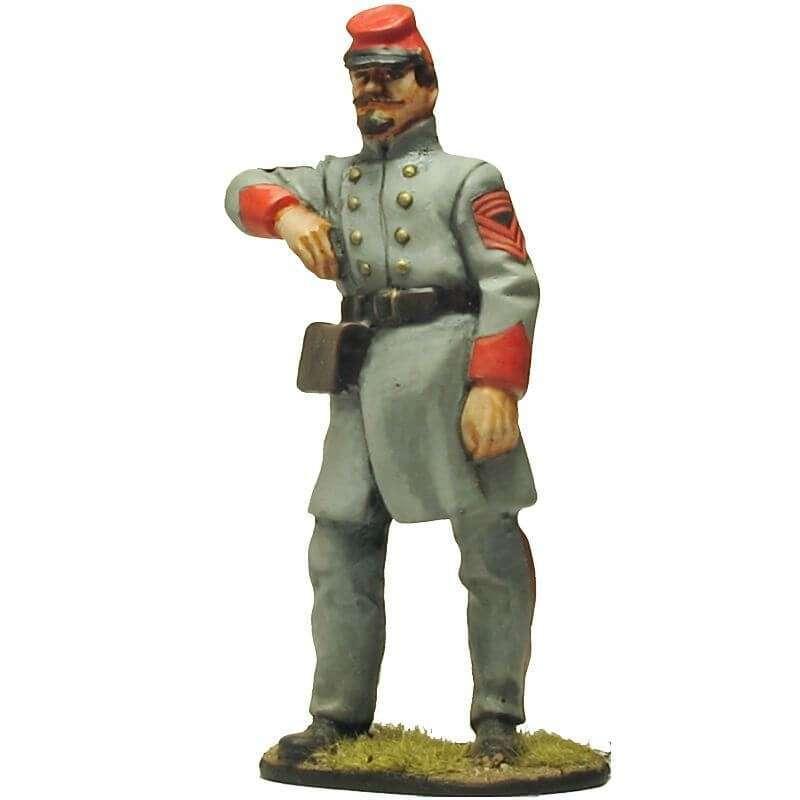 Virginia artillery CSA sergeant major