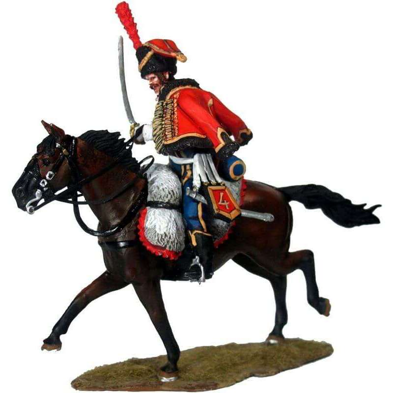 Hussar elite escuadron French 4th Hussars regiment