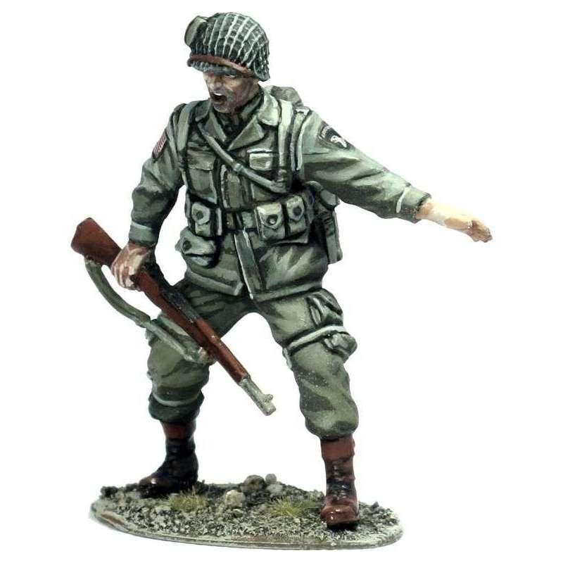 US paratrooper sergeant