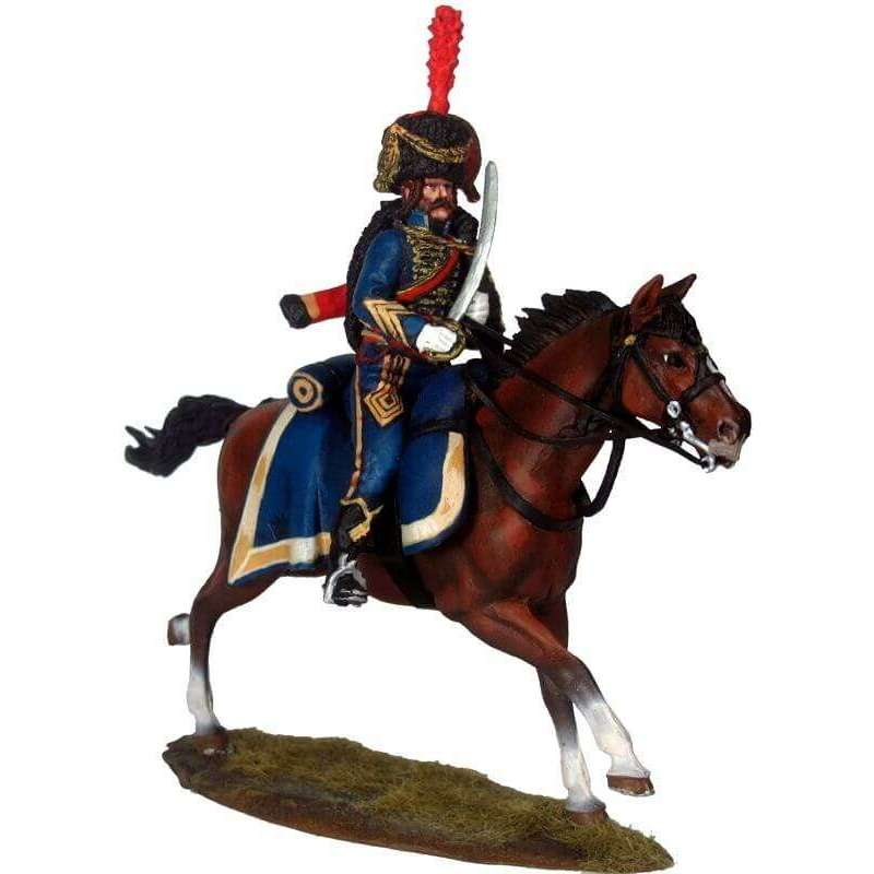 NP 451 Elite escuadron french 4th hussars officer