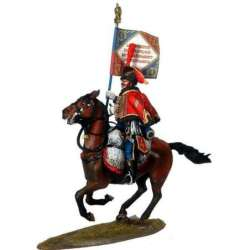 NP 452 Elite escuadron french 4th hussars standard bearer