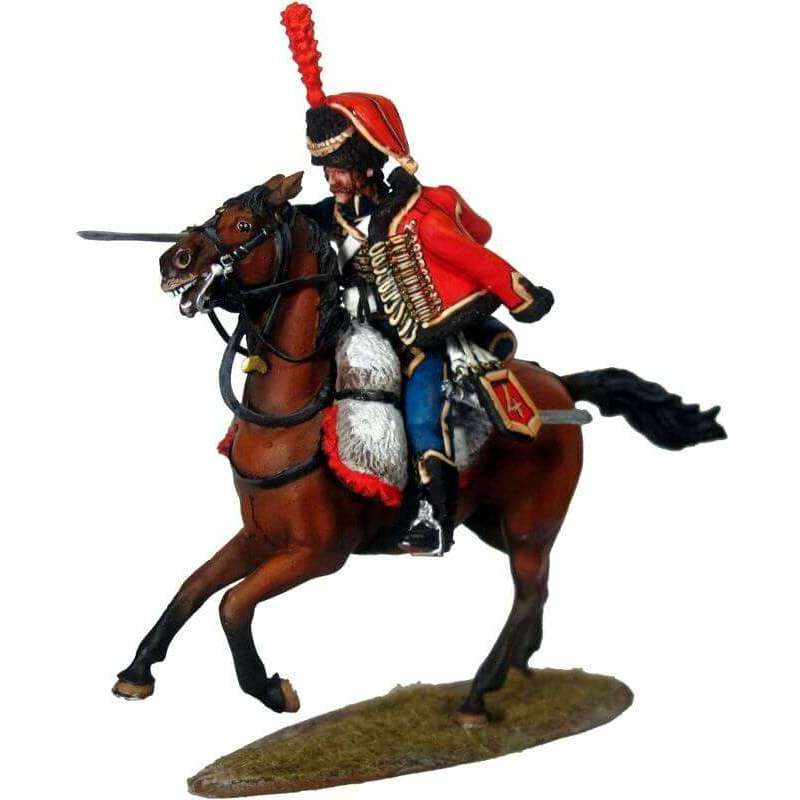 Hussar elite escuadron french 4th hussars