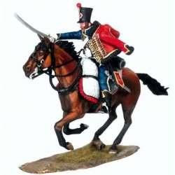 NP 454 Husar 4ºregimiento húsares francés 2