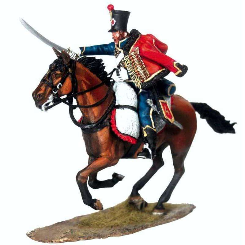 NP 454 Hussar french 4th hussars 2