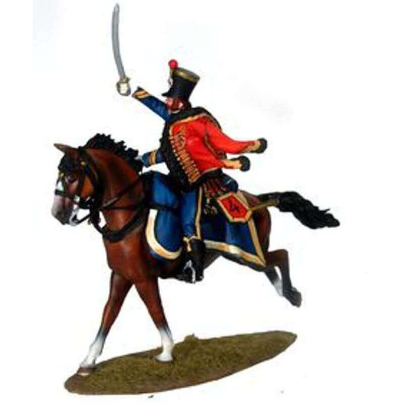 French 4th husars regiment Officer