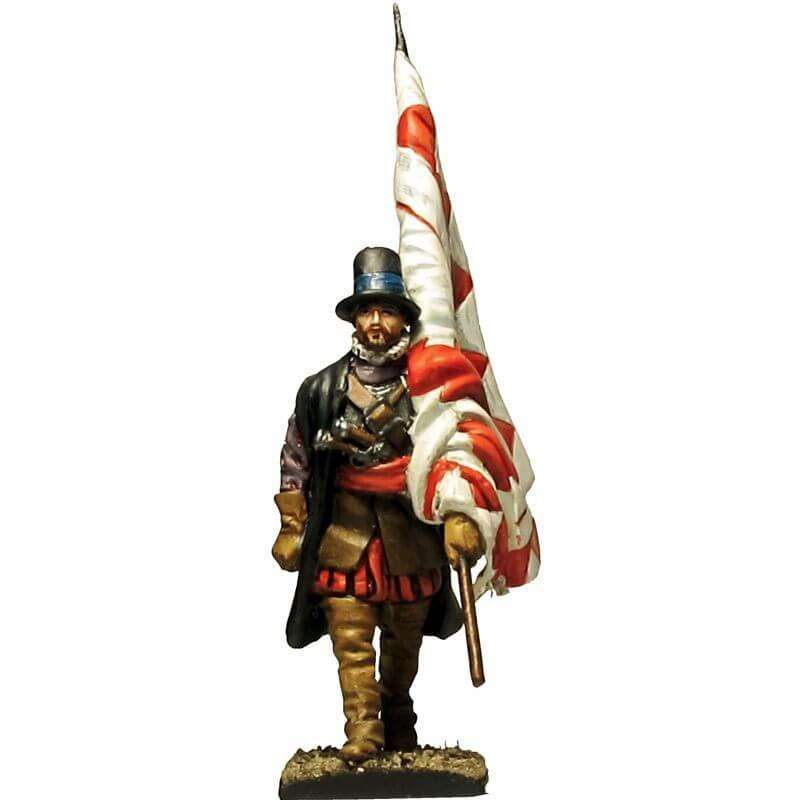 Old Tercio of Zamora Standard bearer