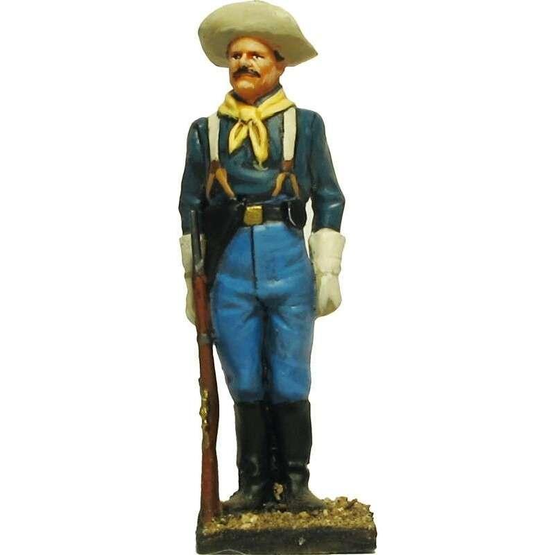 W 058 toy soldier centinela caballería USA 2