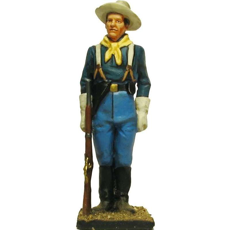W 059 toy soldier centinela caballería USA 3