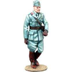 Italian infantry officer marching