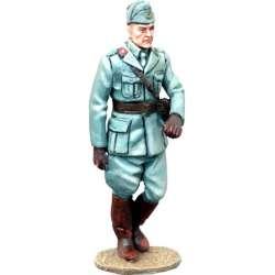 WW 142 toy soldier oficial infantería italiano marchando