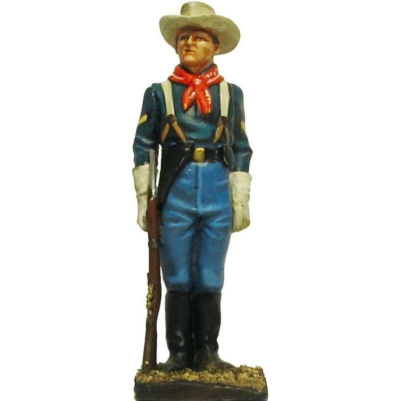 W 060 toy soldier centinela caballería USA 4