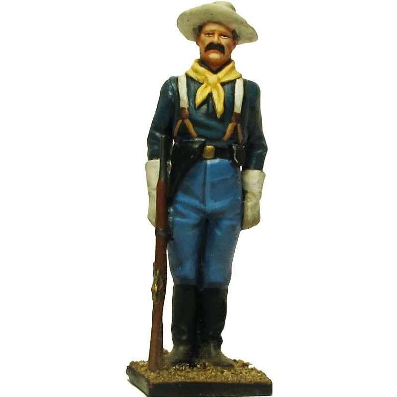 W 061 toy soldier centinela caballería USA 5
