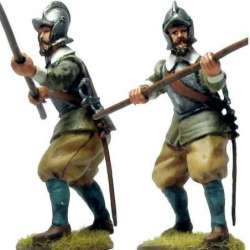 TYW 041 toy soldier pikeman second line bourguignotte