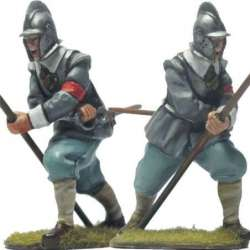 TYW 040 toy soldier pikeman first line bourguignotte