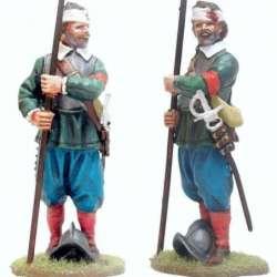 TYW 038 toy soldier piquero herido