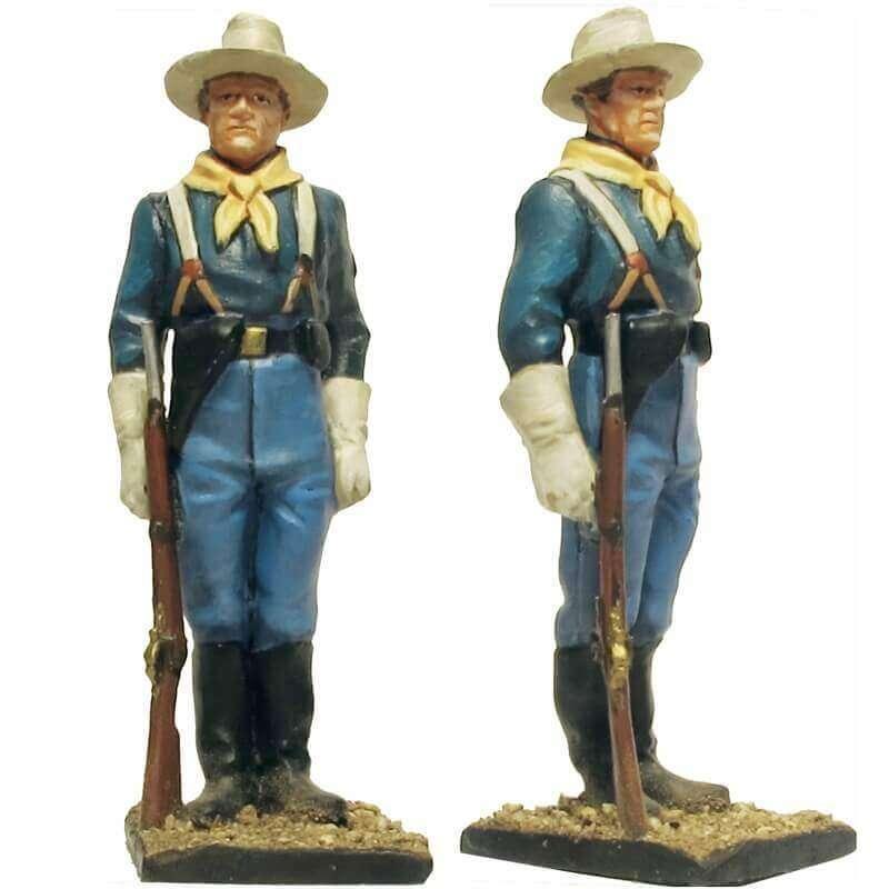 W 062 toy soldier centinela caballería USA 6