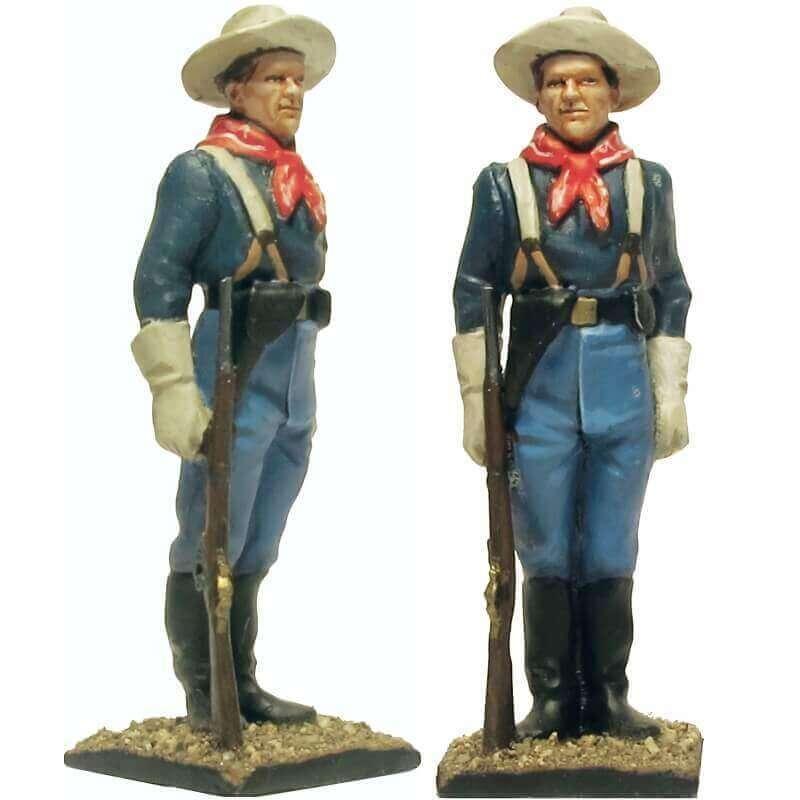 W 063 toy soldier centinela caballería USA 7