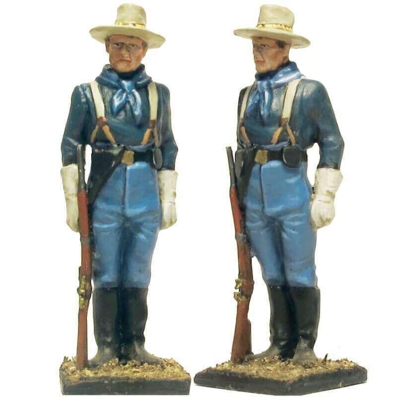 W 064 toy soldier centinela caballería USA 8