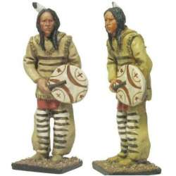 W 014 toy soldier Sioux