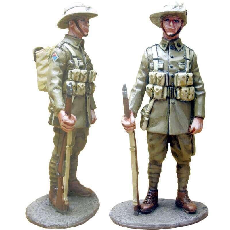 GW 011 Soldado 2 27º Batallón división australiana Europa 1918
