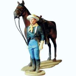 US cavalry review