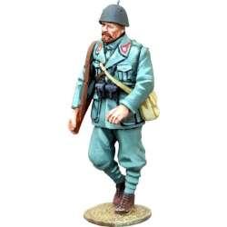 WW 147 toy soldier infantería italiana marchando 4
