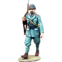 WW 148 toy soldier infantería italiana marchando 5