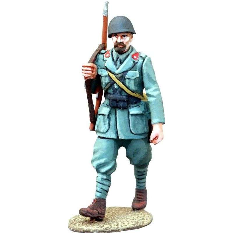WW 148 Infantería italiana marchando 5