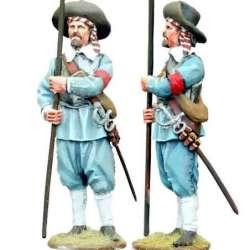TYW 019 toy soldier pikeman 8 rocroi