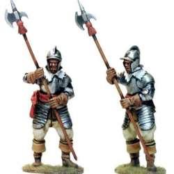 TYW 034 toy soldier sergeant poleaxe