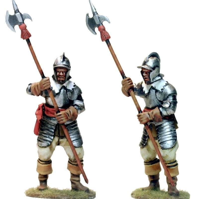 Sergeant with poleaxe