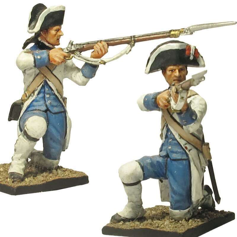 Fusilero regimiento fijo Luisiana Pensacola