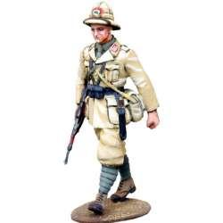 WW 151 toy soldier infantería italiana marchando Africa 1