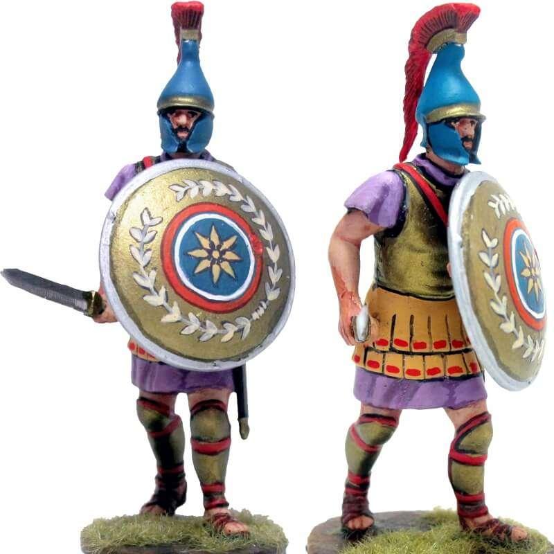 Oficial infantería macedonio