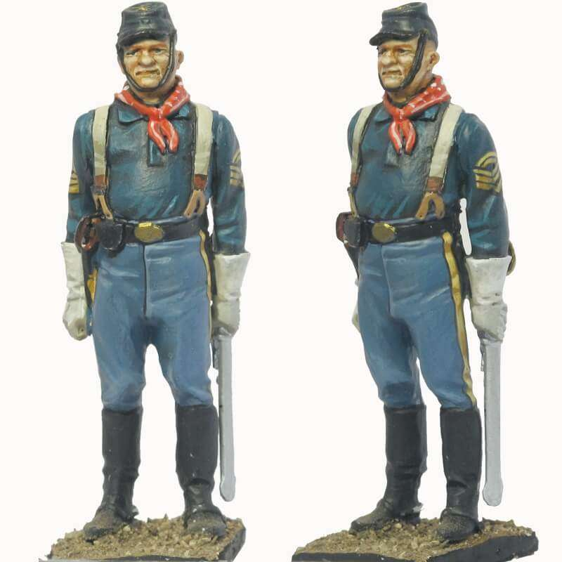 NP 073 FRENCH IMPERIAL GUARD 3RD GRENADIERS RGT. SAPPER