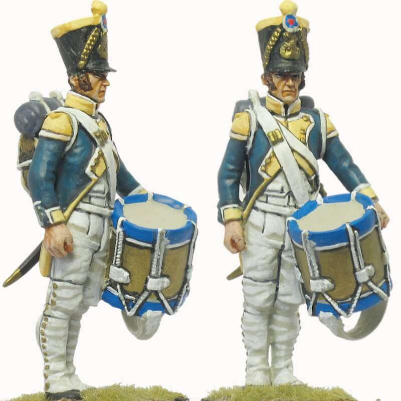 63th line fussiliers rgt drummer 1809