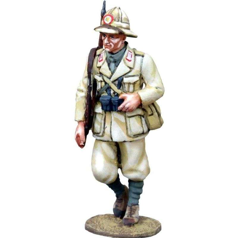 Italian infantry marching Africa 2
