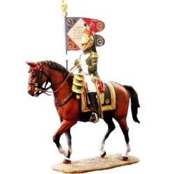 Empress Dragoons standard bearer