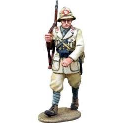 WW 153 toy soldier infantería italiana marchando Africa 3