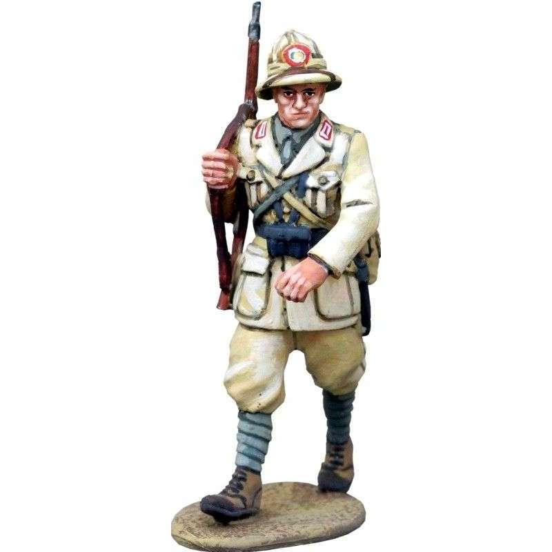WW 153 Italian infantry marching Africa 3