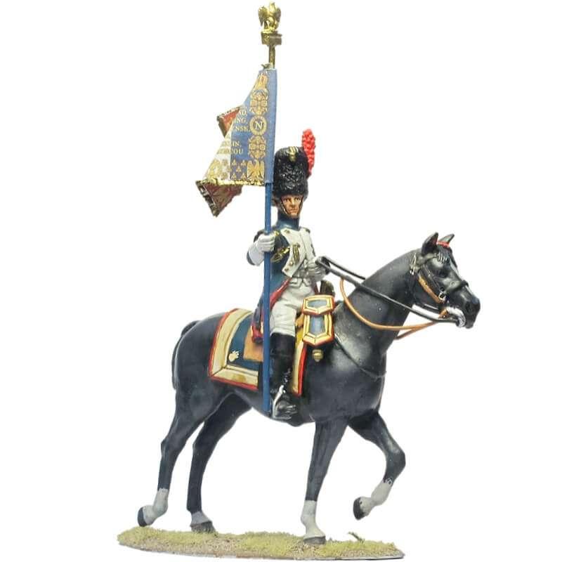 Horse grenadiers standard bearer