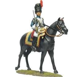 Oficial granaderos caballo