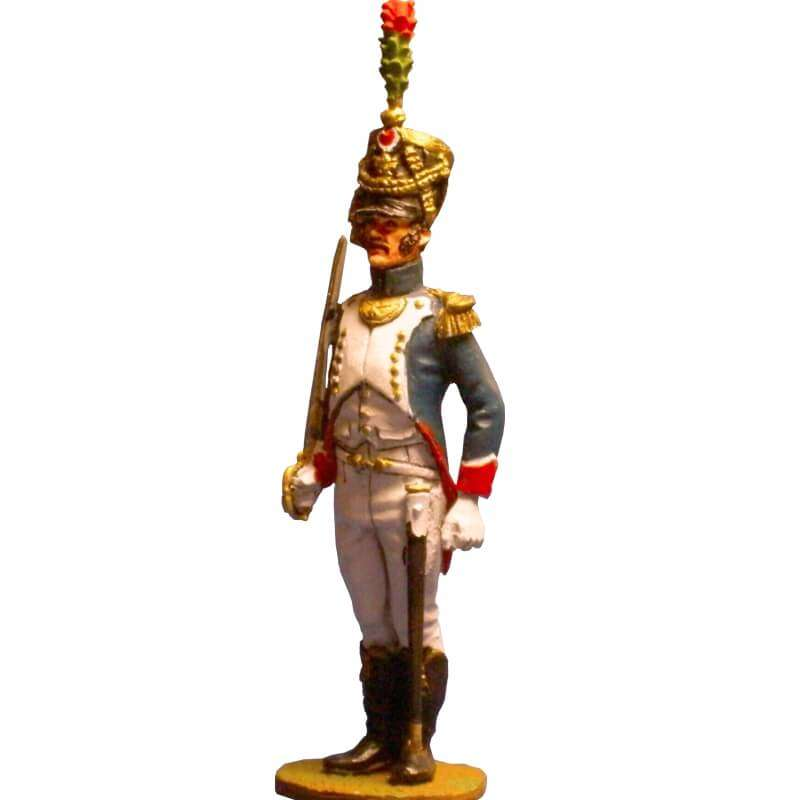 French imperial guard fussiliers-chasseurs officer
