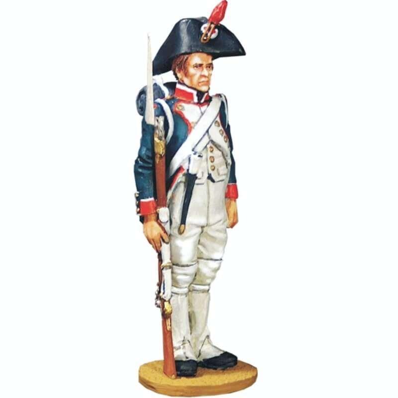Fusilero infantería línea 1804